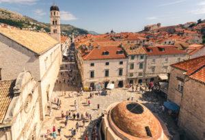 Vackra gator och torg – en anledning till varför du ska besöka Dubrovnik