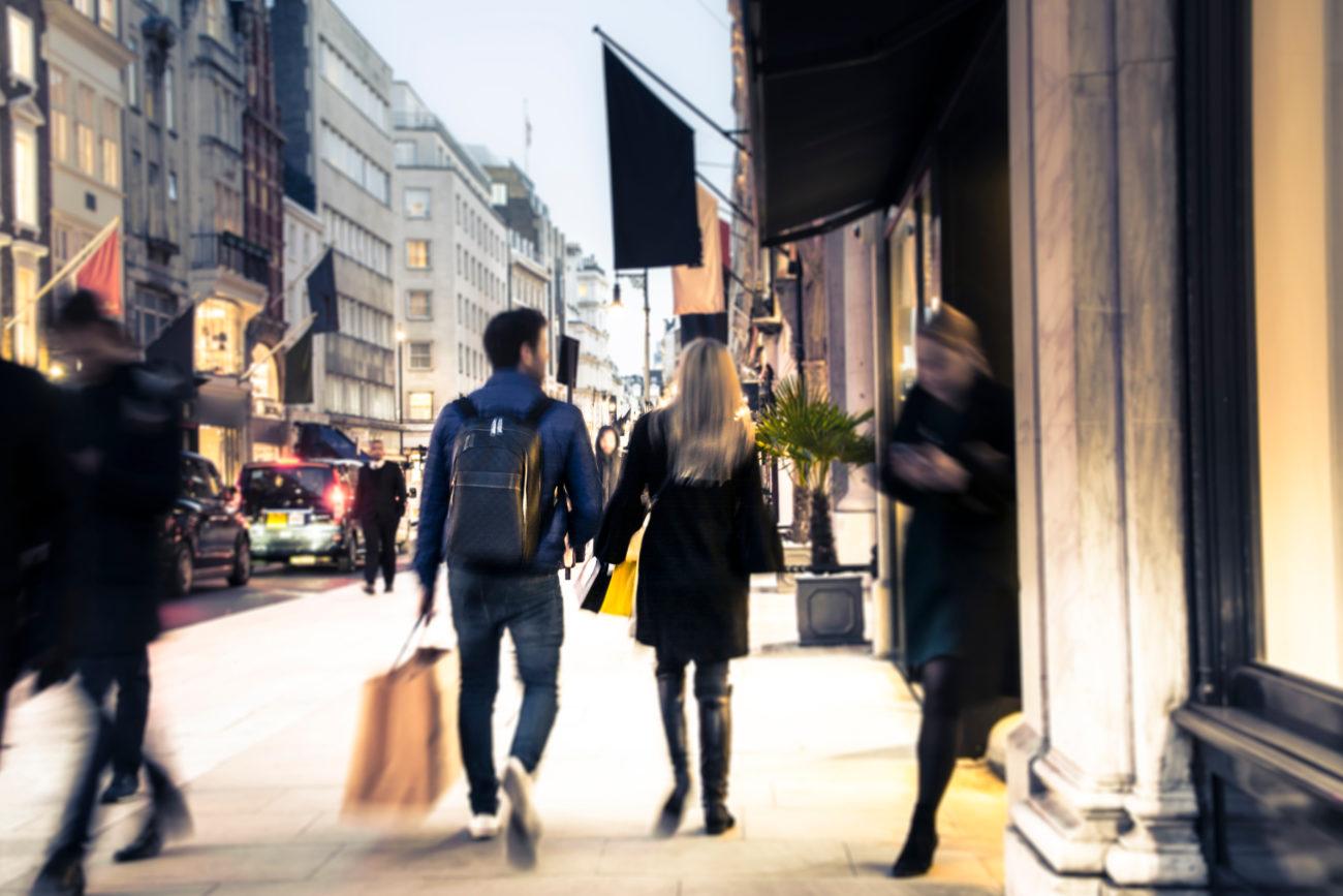 Oxford street – shopping i London
