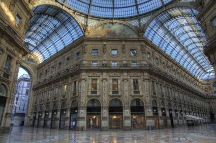 Galleria Vittorio mode i Milano