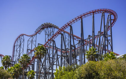 Six flags - los angeles