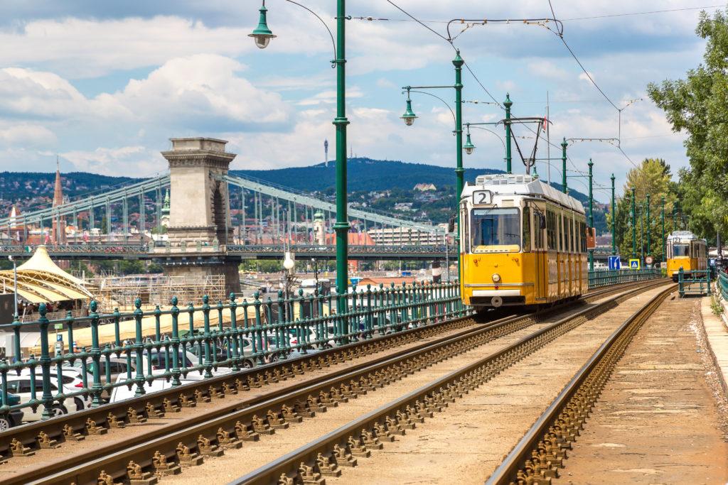 Spårvagn Budapest