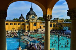 Spa i Budapest