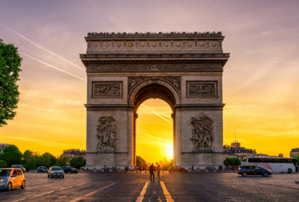 Triumfbågen - Paris